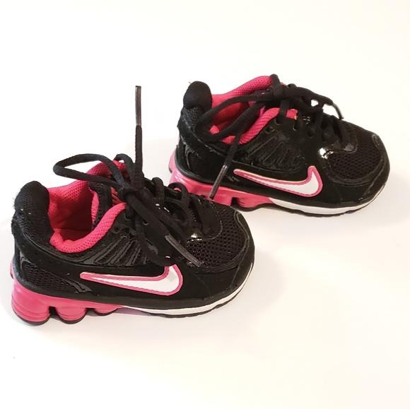 new arrival d3323 96950 Toddler Nike Shox - Pink Black White. M 5b8ef0042e1478ea9ae4247e